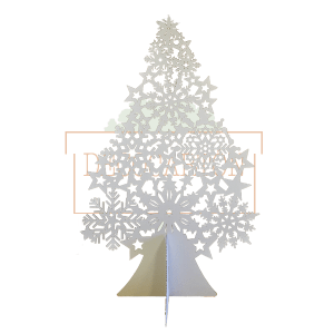 Árbol de navidad de cartón