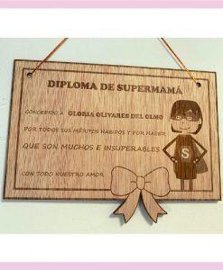 Diploma día de la Madre