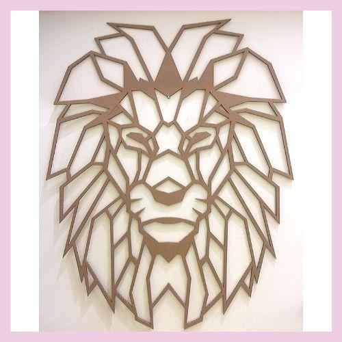 León para pared