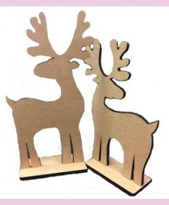 Pareja de renos Navidad