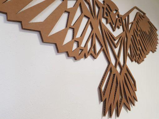 Águila decorativa grande