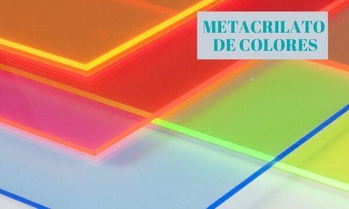 Metacrilato de colores
