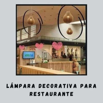 Lámpara decorativa