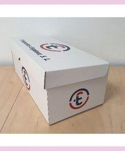 Caja de zapatos impresa