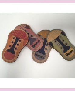 Zapatillas para aprender a atar cordones