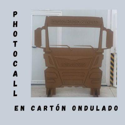 Photocall camión