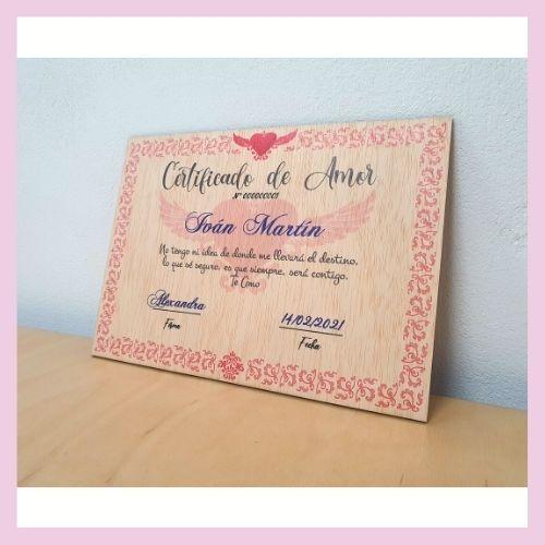 Certificado de Amor