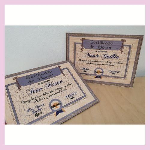 Certificado de Mejor padre