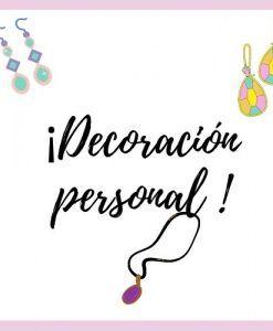 Decoración personal